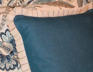 Custom Turquoise Bedding