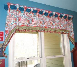 Custom Kitchen Valance