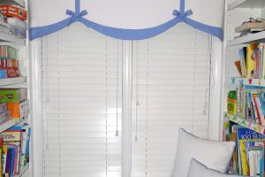 Custom Valance with Bows