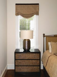 Custom Relaxed Roman Shade Valance