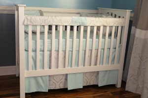 Custom crib bedding
