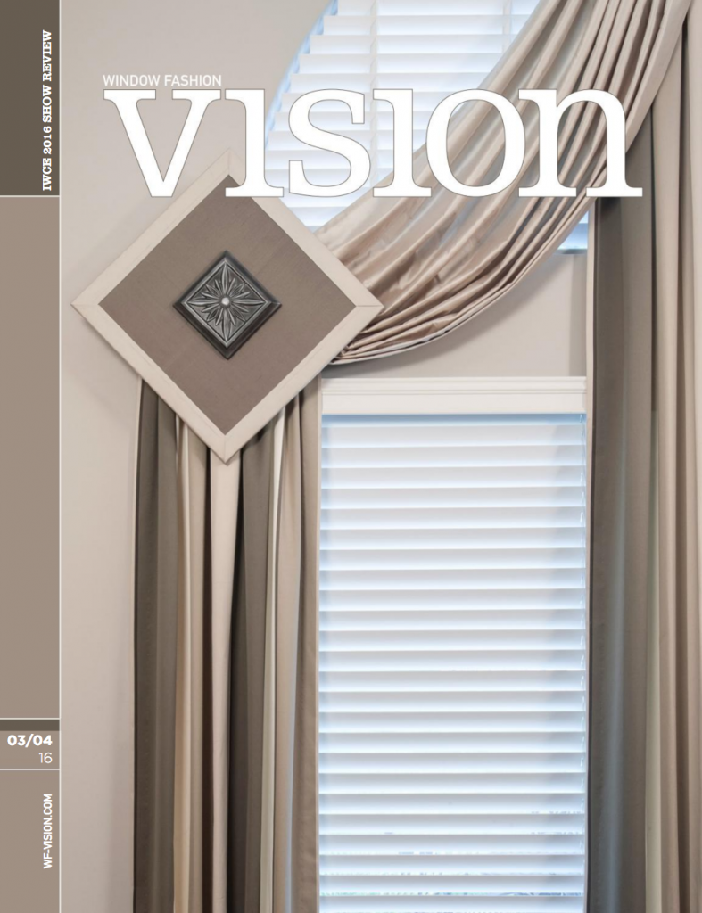 Vision Magazine cover - March 2016
